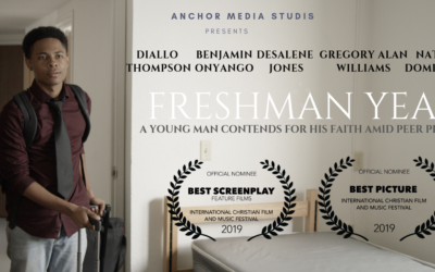 Freshman Year makes Its Debut at the International  Christian Film Festival (ICFF) in Orlando with Five Nominations.